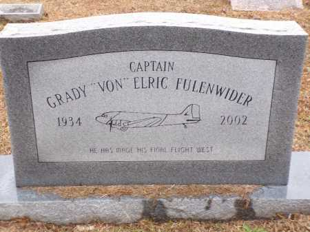 "FULENWIDER, CAPTAIN, GRADY ""VON"" ELRIC - Columbia County, Arkansas 