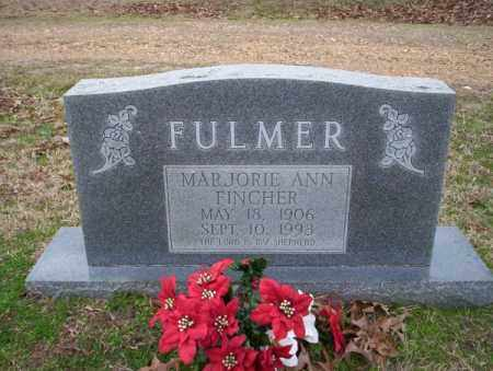 FINCHER FULMER, MARJORIE ANN - Columbia County, Arkansas | MARJORIE ANN FINCHER FULMER - Arkansas Gravestone Photos
