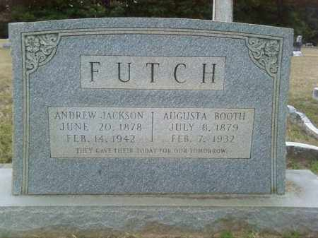 FUTCH, ANDREW JACKSON - Columbia County, Arkansas | ANDREW JACKSON FUTCH - Arkansas Gravestone Photos