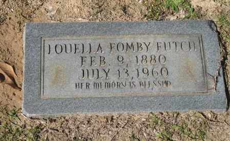 FOMBY FUTCH, LOUELLA - Columbia County, Arkansas | LOUELLA FOMBY FUTCH - Arkansas Gravestone Photos