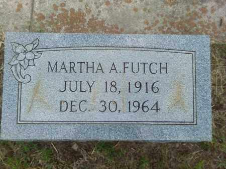 FUTCH, MARTHA A - Columbia County, Arkansas | MARTHA A FUTCH - Arkansas Gravestone Photos