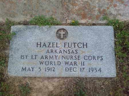FUTCH (VETERAN WWII), HAZEL - Columbia County, Arkansas | HAZEL FUTCH (VETERAN WWII) - Arkansas Gravestone Photos