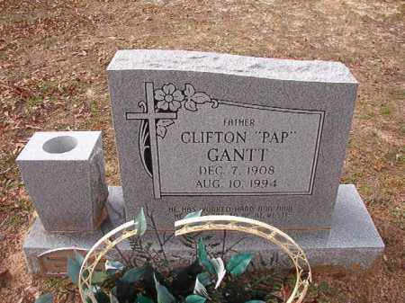 "GANTT, CLIFTON ""PAP"" - Columbia County, Arkansas 
