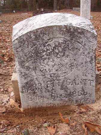 GANTT, HARRIETT - Columbia County, Arkansas | HARRIETT GANTT - Arkansas Gravestone Photos