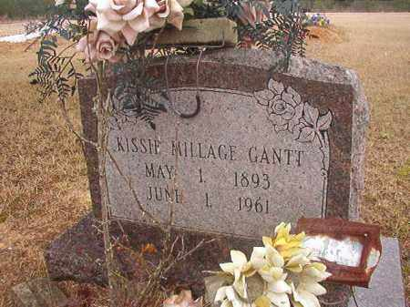 MILLAGE GANTT, KISSIE - Columbia County, Arkansas | KISSIE MILLAGE GANTT - Arkansas Gravestone Photos