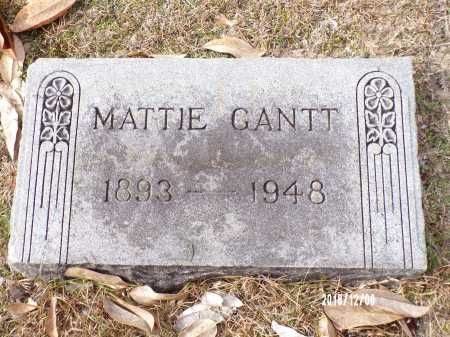 GANTT, MATTIE - Columbia County, Arkansas | MATTIE GANTT - Arkansas Gravestone Photos