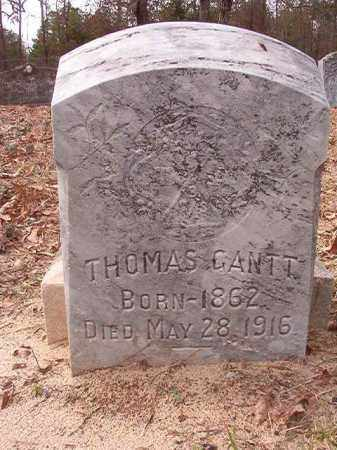 GANTT, THOMAS - Columbia County, Arkansas | THOMAS GANTT - Arkansas Gravestone Photos