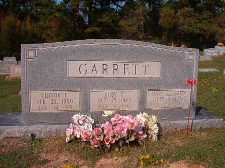 GARRETT, CLIFTON E - Columbia County, Arkansas | CLIFTON E GARRETT - Arkansas Gravestone Photos