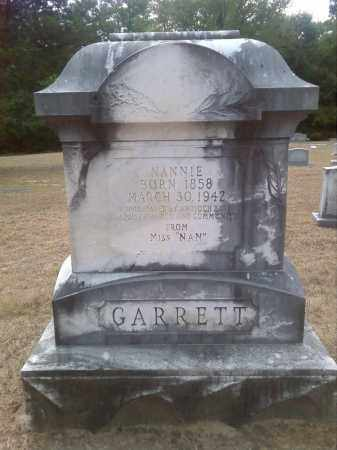 GARRETT, NANCY - Columbia County, Arkansas | NANCY GARRETT - Arkansas Gravestone Photos