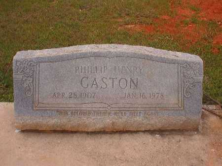 GASTON, PHILLIP HENRY - Columbia County, Arkansas | PHILLIP HENRY GASTON - Arkansas Gravestone Photos