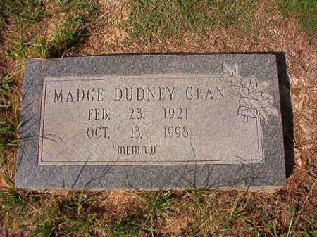 DUDNEY GEAN, MADGE - Columbia County, Arkansas | MADGE DUDNEY GEAN - Arkansas Gravestone Photos