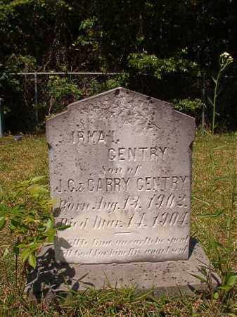 GENTRY, IRMA - Columbia County, Arkansas | IRMA GENTRY - Arkansas Gravestone Photos