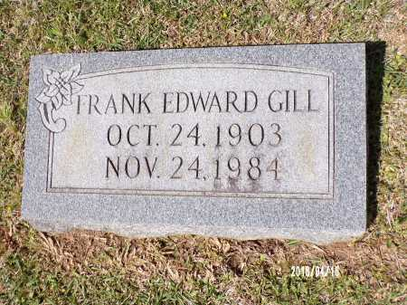 GILL, FRANK EDWARD - Columbia County, Arkansas | FRANK EDWARD GILL - Arkansas Gravestone Photos