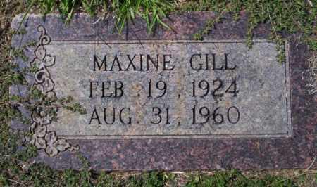 GILL, MAXINE - Columbia County, Arkansas | MAXINE GILL - Arkansas Gravestone Photos