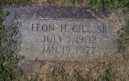 GILL SR., LEON H - Columbia County, Arkansas | LEON H GILL SR. - Arkansas Gravestone Photos