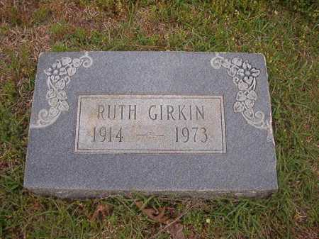 GIRKIN, RUTH - Columbia County, Arkansas | RUTH GIRKIN - Arkansas Gravestone Photos