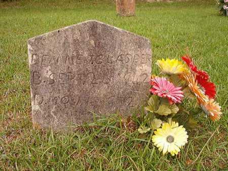 GLASPER, BENNIE - Columbia County, Arkansas   BENNIE GLASPER - Arkansas Gravestone Photos