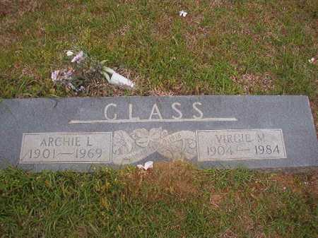 GLASS, ARCHIE L - Columbia County, Arkansas | ARCHIE L GLASS - Arkansas Gravestone Photos