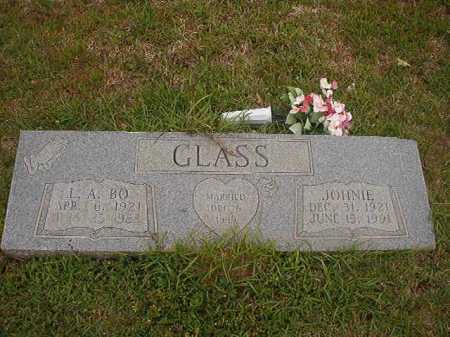 GLASS, JOHNIE - Columbia County, Arkansas | JOHNIE GLASS - Arkansas Gravestone Photos