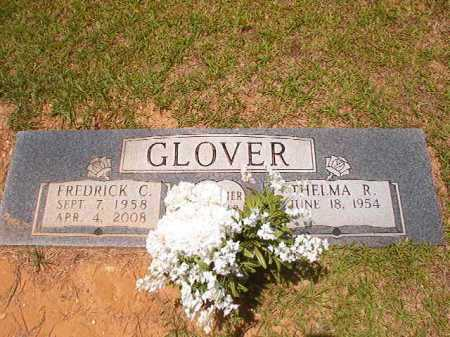GLOVER, FREDRICK C - Columbia County, Arkansas | FREDRICK C GLOVER - Arkansas Gravestone Photos