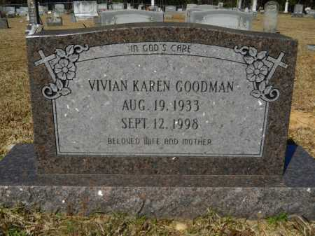 GOODMAN, VIVIAN KAREN - Columbia County, Arkansas | VIVIAN KAREN GOODMAN - Arkansas Gravestone Photos