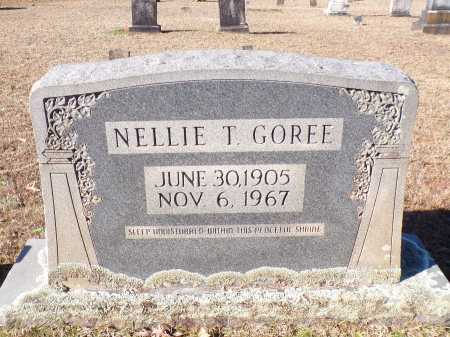 GOREE, NELLIE T - Columbia County, Arkansas | NELLIE T GOREE - Arkansas Gravestone Photos