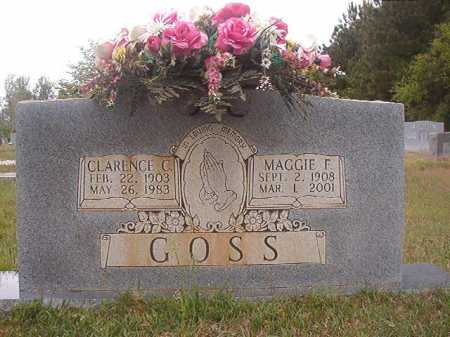 GOSS, MAGGIE F - Columbia County, Arkansas | MAGGIE F GOSS - Arkansas Gravestone Photos