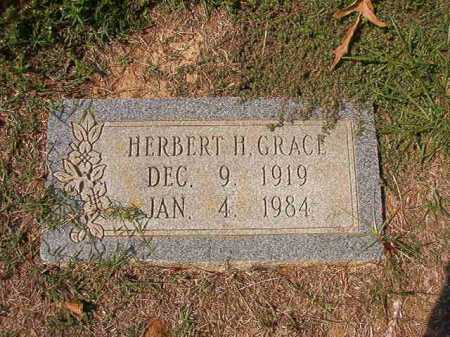 GRACE, HERBERT H - Columbia County, Arkansas | HERBERT H GRACE - Arkansas Gravestone Photos