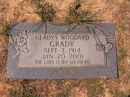 WOODARD GRADY, GLADYS - Columbia County, Arkansas | GLADYS WOODARD GRADY - Arkansas Gravestone Photos