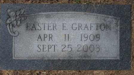 GRAFTON, EASTER E - Columbia County, Arkansas | EASTER E GRAFTON - Arkansas Gravestone Photos