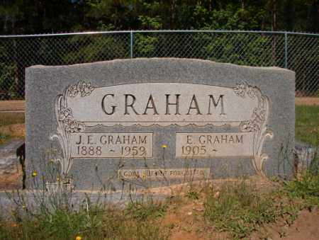GRAHAM, J E - Columbia County, Arkansas | J E GRAHAM - Arkansas Gravestone Photos