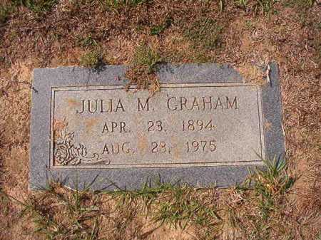 GRAHAM, JULIA M - Columbia County, Arkansas | JULIA M GRAHAM - Arkansas Gravestone Photos