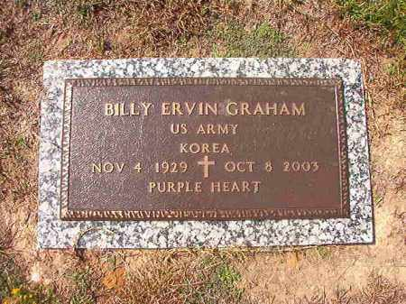 GRAHAM (VETERAN KOR), BILLY ERVIN - Columbia County, Arkansas | BILLY ERVIN GRAHAM (VETERAN KOR) - Arkansas Gravestone Photos