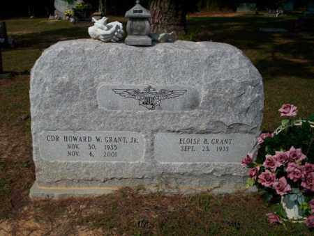 GRANT JR (VETERAN), HOWARD W - Columbia County, Arkansas | HOWARD W GRANT JR (VETERAN) - Arkansas Gravestone Photos