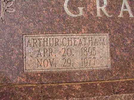 GRAVES, ARTHUR CHEATHAM - Columbia County, Arkansas | ARTHUR CHEATHAM GRAVES - Arkansas Gravestone Photos