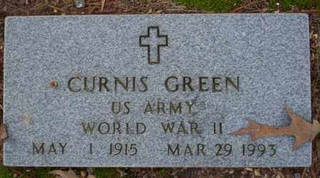 GREEN  (VETERAN WWII), CURNIS - Columbia County, Arkansas | CURNIS GREEN  (VETERAN WWII) - Arkansas Gravestone Photos
