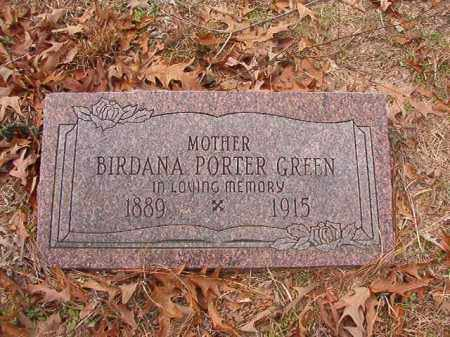 GREEN, BIRDANA - Columbia County, Arkansas | BIRDANA GREEN - Arkansas Gravestone Photos