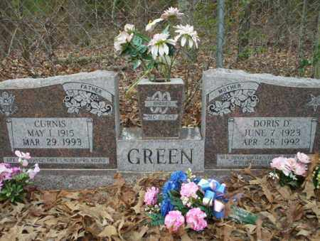 GREEN, CURNIS - Columbia County, Arkansas | CURNIS GREEN - Arkansas Gravestone Photos