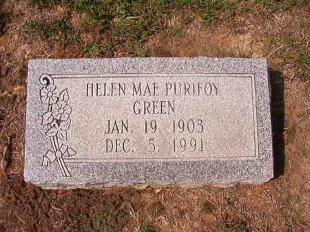 GREEN, HELEN MAE - Columbia County, Arkansas | HELEN MAE GREEN - Arkansas Gravestone Photos