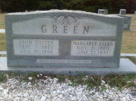 GREEN, JOHN FOSTER - Columbia County, Arkansas | JOHN FOSTER GREEN - Arkansas Gravestone Photos