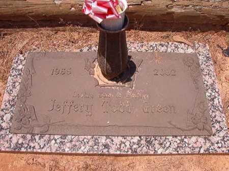 GREEN, JEFFERY TODD - Columbia County, Arkansas | JEFFERY TODD GREEN - Arkansas Gravestone Photos