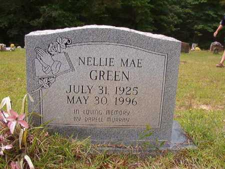 GREEN, NELLIE MAE - Columbia County, Arkansas | NELLIE MAE GREEN - Arkansas Gravestone Photos