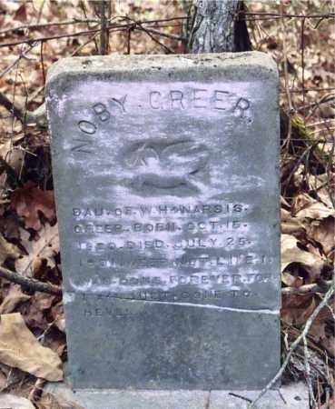 GREER, NOBY - Columbia County, Arkansas | NOBY GREER - Arkansas Gravestone Photos