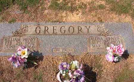 JOHNSON GREGORY, AUDNA - Columbia County, Arkansas | AUDNA JOHNSON GREGORY - Arkansas Gravestone Photos