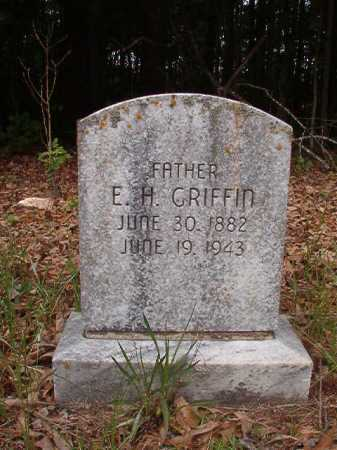 GRIFFIN, E H - Columbia County, Arkansas | E H GRIFFIN - Arkansas Gravestone Photos