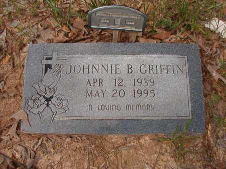 GRIFFIN, JOHNNIE B - Columbia County, Arkansas | JOHNNIE B GRIFFIN - Arkansas Gravestone Photos