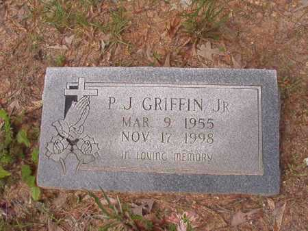 GRIFFIN, JR, P J - Columbia County, Arkansas | P J GRIFFIN, JR - Arkansas Gravestone Photos