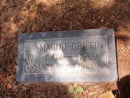 GRIFFIN, MAUDIE - Columbia County, Arkansas | MAUDIE GRIFFIN - Arkansas Gravestone Photos