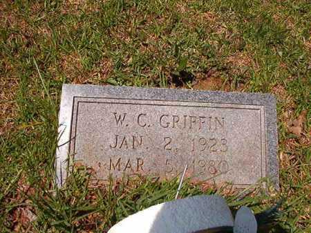 GRIFFIN, W C - Columbia County, Arkansas | W C GRIFFIN - Arkansas Gravestone Photos