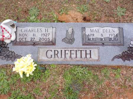 GRIFFITH, CHARLES H - Columbia County, Arkansas | CHARLES H GRIFFITH - Arkansas Gravestone Photos